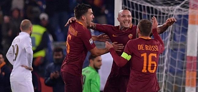 Foto: Nainggolan titulaire lors de la victoire de la Roma à Genoa