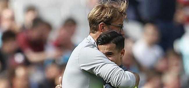 Foto: Klopp s'exprime après le nul de Liverpool et semble résolu au départ de Coutinho