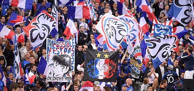 Foto: Conflit turco-kurde, la banderole polémique au stade de France