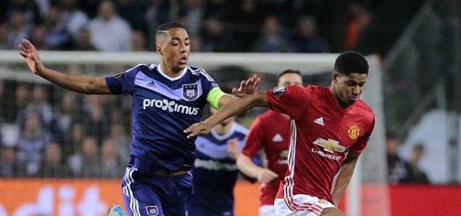 Foto: Personne n'a remarqué cela quand Rashford a marqué contre Anderlecht