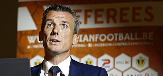 Foto: Johan Verbist, patron des arbitres: