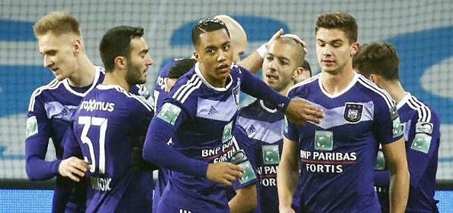 Foto: Anderlecht est le premier de la classe devant le Standard