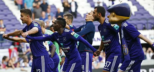 Foto: Deux bonnes nouvelles d'un coup à Anderlecht
