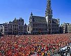 """Foto: Mea culpa des Belges: """"Il nous rappelle qu'en sélection, c'est lui le patron"""""""