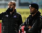 Foto: Une nouvelle tête à l'entraînement du Sporting d'Anderlecht