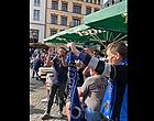 Foto: LDC: les supporters de Bruges mettent déjà l'ambiance à Leipzig 🎥