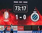 Foto: Les sanctions pour Standard-Bruges connues?