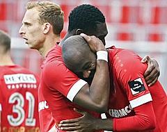 Lamkel Zé se dispute avec des supporters de l'Antwerp
