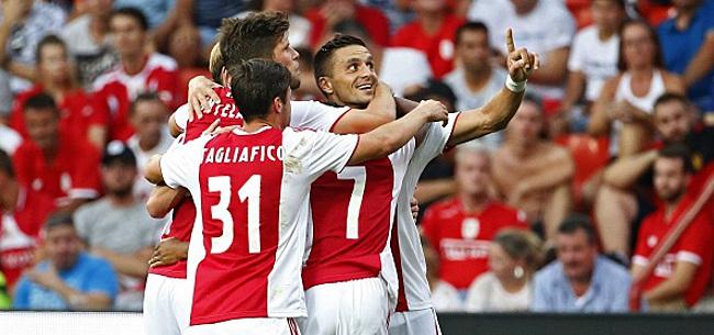 Foto: Ajax - PSV en quart de finale de la Coupe