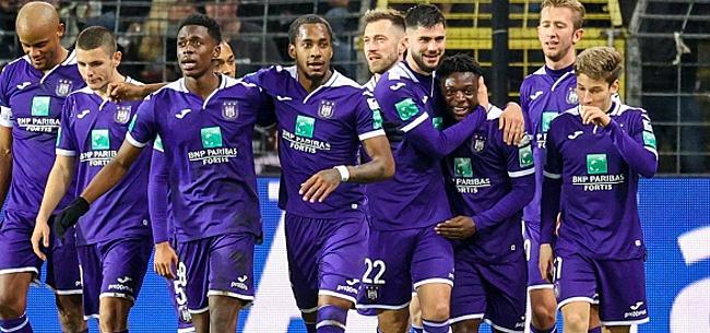 Foto: Anderlecht a laissé cinq joueurs tranquilles