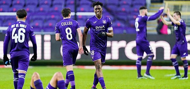 Foto: PO I et PO II: Anderlecht commence troisième