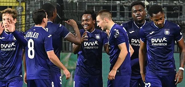 Foto: Trois joueurs doivent quitter Anderlecht en janvier