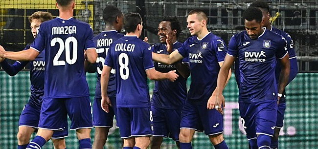 Foto: Un nouveau cas positif à Anderlecht