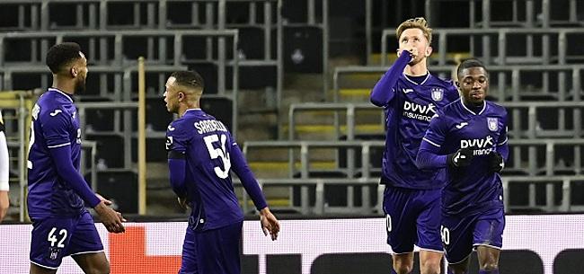 Foto: Anderlecht: 28,45 millions sur le chemin