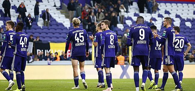 Foto: Contre Waasland, Anderlecht va profiter du nouveau règlement de la Pro League