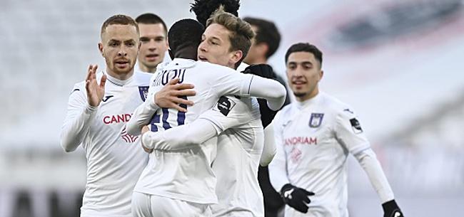 Foto: Anderlecht  fait tomber Boskamp de sa chaise