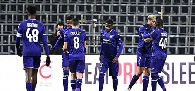 Foto: Anderlecht: encore un mauvais indicateur
