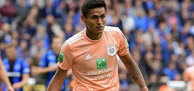 Foto: Anderlecht: Andy Najar à nouveau opéré du genou