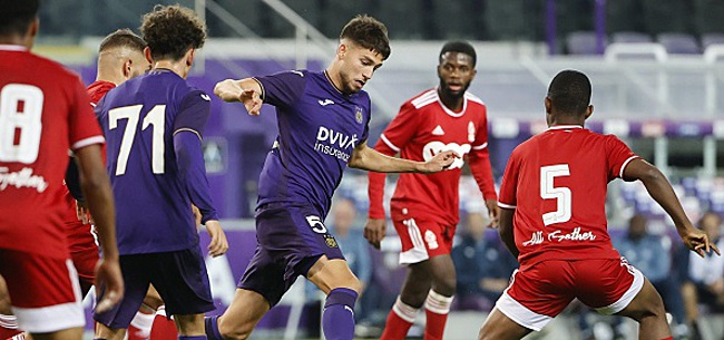 Foto: U21 De nouveau buteur, il aide Anderlecht a remporter le clasico