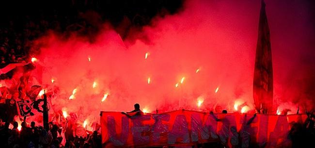Foto: Ils ont préparé un tifo pour le match au sommet: spectacle assuré !
