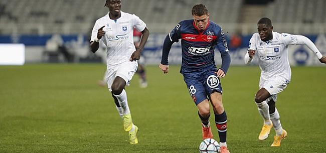 Foto: L'attaquant belge de Valenciennes met Toulouse k.o