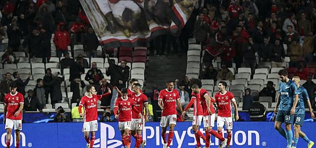 Foto: Benfica soutenu par près de 10.000 fans contre le Standard