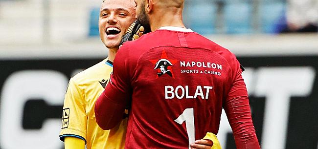 Foto: Lang réagit aux propos de Bolat: le portier gantois est-il un menteur ?