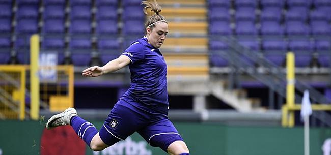 Foto: Elle joue à Anderlecht mais elle va supporter le Beerschot