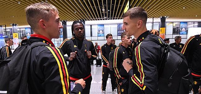Foto: Meunier l'a dit à Castagne: il ne jouera pas la Ligue des Champions avec le PSG