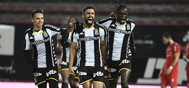 Foto: Rezaei délivre Charleroi qui s'empare de la quatrième place