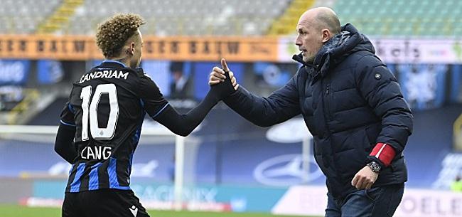 Foto: Noa Lang manquera plus d'un match pour Bruges!
