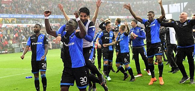 Foto: FC Bruges - Eupen en ouverture du championnat