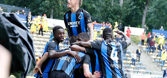 Foto: Le Club de Bruges s'impose in extremis sur le terrain de l'Union