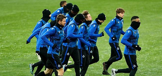 Foto: Bruges à nouveau privé de plusieurs joueurs pour affronter Kiev