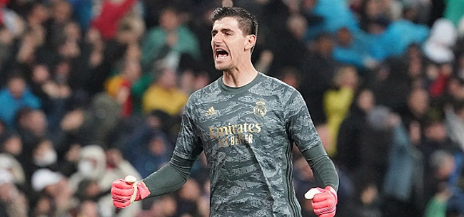 Foto: Courtois dédie le titre du Real aux supporters (VIDEO)
