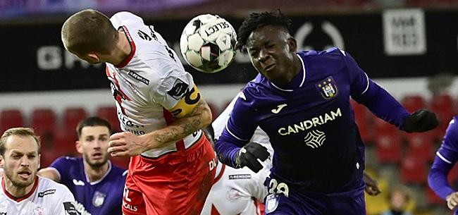 Foto: Anderlecht a encore mené et a encore oublié de gagner