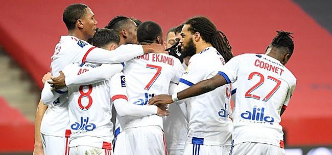 Foto: Coupe de France - Denayer entre et marque, Guillaume rate un penalty !