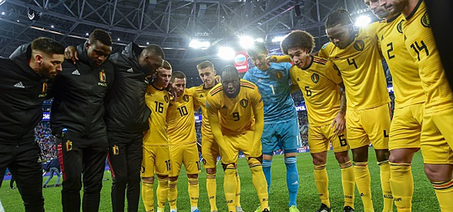 Foto: La Belgique sanctionnée par l'UEFA? Deux infractions qui ne passent pas