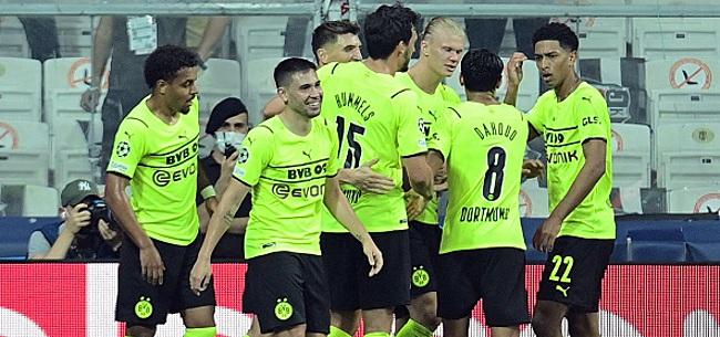 Foto: LDC: Le Sheriff réalise un hold-up, Dortmund s'impose en Turquie