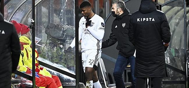 Foto: Le joueur d'Eupen risque un match de suspension