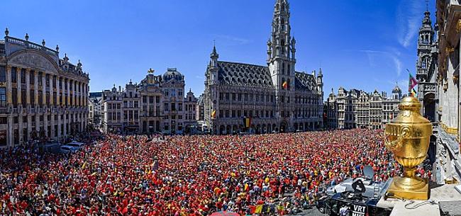 """Foto: Mea culpa des Belges: """"Il nous rappelle qu'en sélection, c'est lui le patron"""