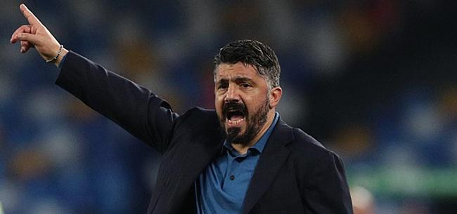 Foto: Gattuso s'en prend à ses joueurs :