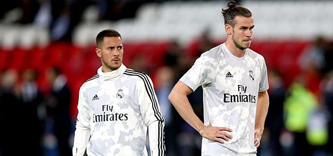 Foto:  Même Gareth Bale se paye la tête d'Eden Hazard