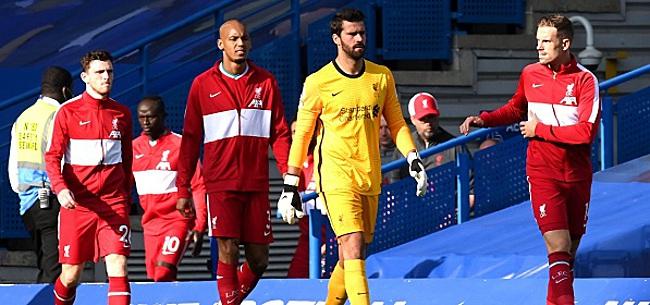 Foto: Coup dur pour Liverpool avant le match contre Arsenal