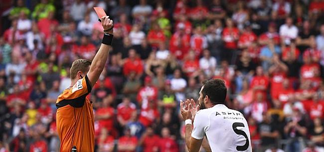 Foto: Jordi Amat suspendu trois matches, Eupen prend une décision surprenante