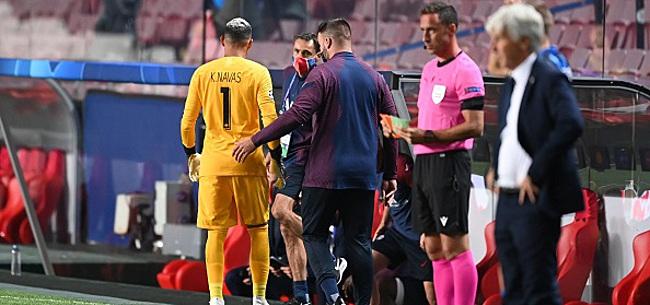 Foto: Navas toujours très incertain pour la finale