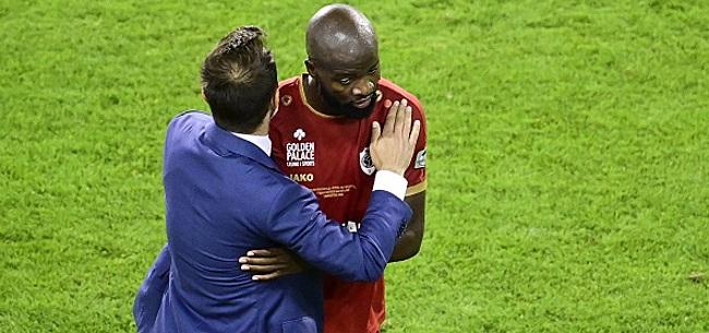 Foto: Lamkel Zé provoque les supporters de l'Antwerp: