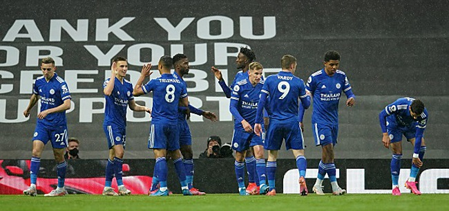 Foto: United s'incline face Leicester, Manchester City officiellement champion