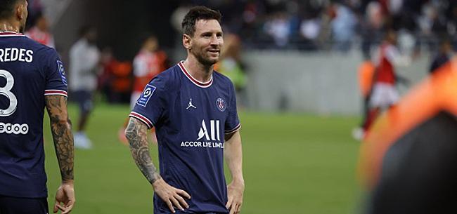 Foto: Messi franchit un nouveau cap contre le Club de Bruges