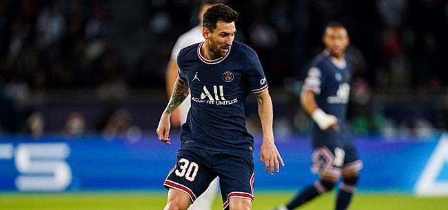Foto: La réaction de Messi après son premier but avec le PSG